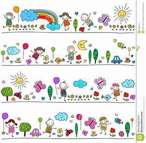Einverständniserklärung Reise Kind Muster : buntes muster f r kinder vektor abbildung bild 53652107 ~ Themetempest.com Abrechnung