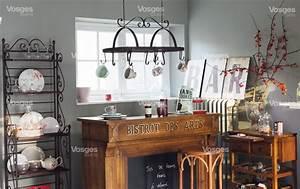 Deco Cuisine Bistrot : cuisine ambiance bistrot uo51 jornalagora ~ Louise-bijoux.com Idées de Décoration