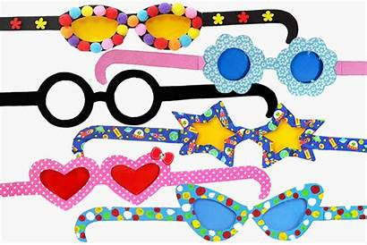 Craft Paper Crafts Eyeglasses Fun Firstpalette Template