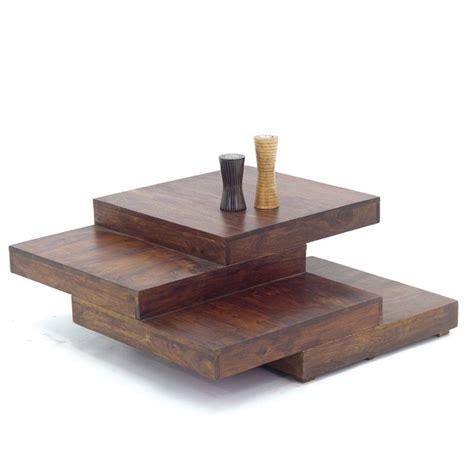 Table basse escalier Zen meuble design pour le salon