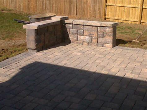patios low cost paver patio