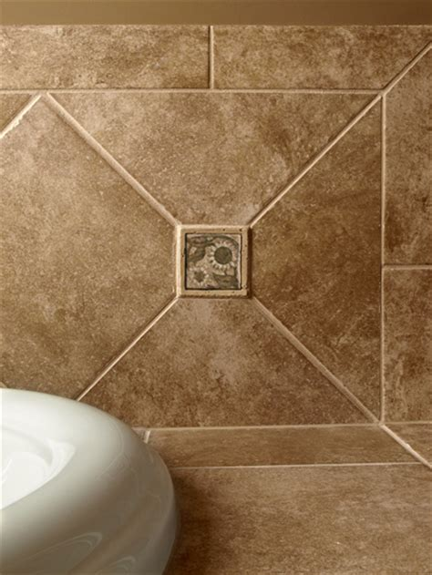 decorative floor tile inserts decorative tile inserts showers backsplashes pacifica tile art studio