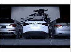 Tesla Model X's Falcon Wing Doors gifs
