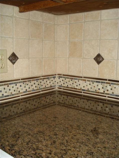 backsplash with a metal dot by carpetsplus colortile of