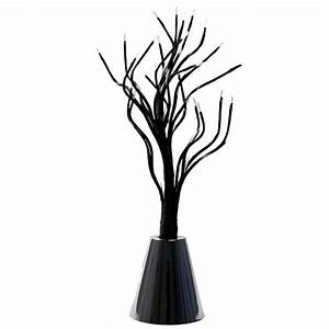 battery operated green led black twig tree 30cm fairy With outdoor battery operated twig lights