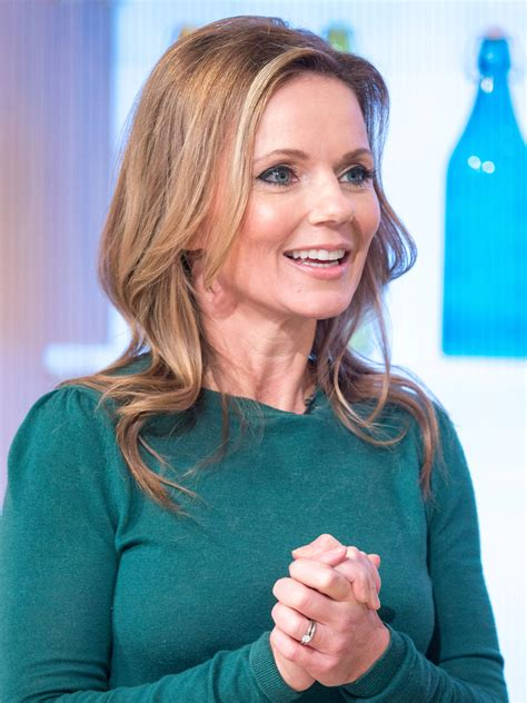 Geri Horner Transforms Into Ginger Spice As She Shows Off