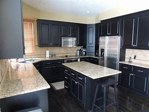 granite counter colors gray kitchens blue granite With kitchen cabinet trends 2018 combined with nautical rope wall art