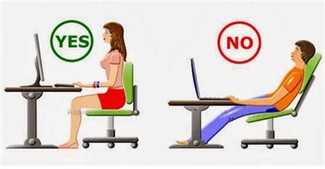 excelente guia de ergonomia  usar de manera correcta