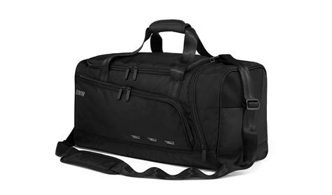 Bmw Genuine Duffle Sports Bag Training Holdall Gym Travel