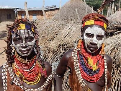 Karo Tribe Paint Tradition Maintaining Tribes Welcome