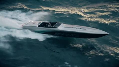 Cigarette Racing Boat Amg by Cigarette Racing Team 50 Amg Monaco Concept Running