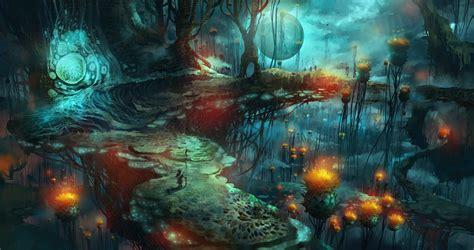 mushroom magic mushrooms fantasy art wallpapers hd