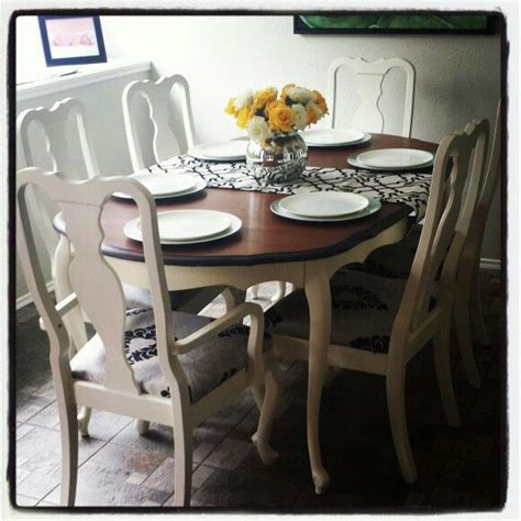 craigslist kitchen table and chairs 1000 ideas about refinish dining tables on