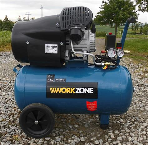 Workzone Kompressor 50 Liter Kolbenkompressor 2,2 Kw 275 L