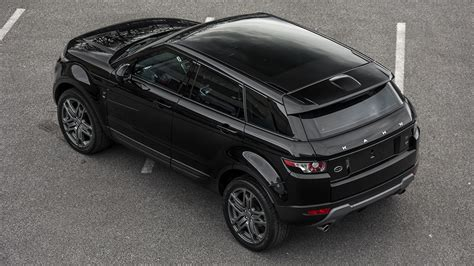 range rover evoque  td se tech black label edition