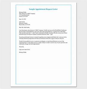 Simplified Letter Format Meeting Appointment Letter 9 Templates For Word Pdf Format