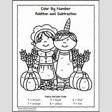 Thanksgiving Worksheet Packet For Kindergarten And First Grade  Mamas Learning Corner