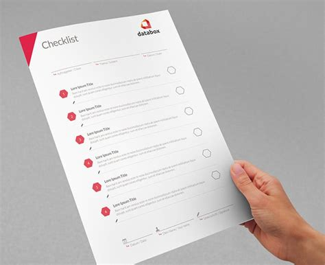 project checklist template   word  documents