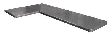 plan de travail en zinc pour cuisine plan de travail de cuisine en zinc patiné