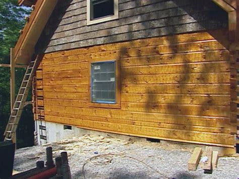 How To Treat And Stain Wood Siding