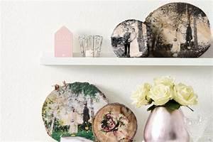 Foto Auf Holz Selber Machen : 3 diy deko ideen die du super easy selber machen kannst ~ Buech-reservation.com Haus und Dekorationen