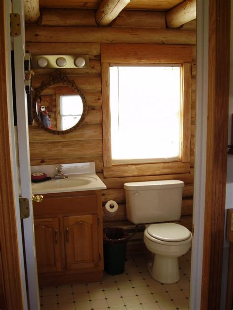 Best Rustic Cabin Bathroom Ideas On Pinterest Log Home