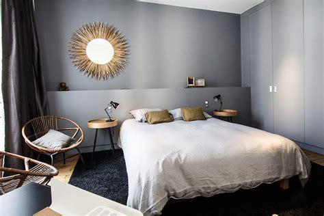 choisir couleur chambre un bleu gris pour la chambre déco couleur http