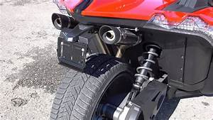 Dnt Racing Exhaust For Polaris Slingshot  Sound Test