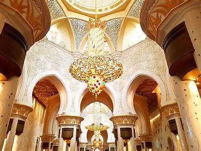 Mosque Grand Dhabi Abu Main Hall Explore