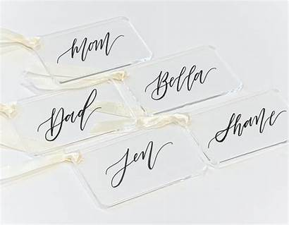 Tags Stocking Personalized Acrylic Gift Stockings Gifts