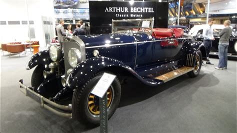 We are interested in the evolution of cars, and show their future. 1925, Mercedes-Benz Murphy Coachbuilder, Exterior and Interior, Retro Classics Stuttgart 2015 ...