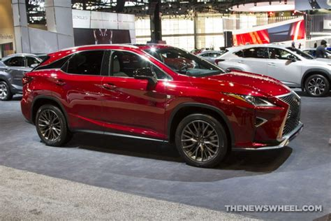 lexus rx red 2017 2017 chicago auto show photo gallery see the cars lexus