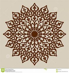 the template mandala pattern for decorative rosette stock With laser engraver templates