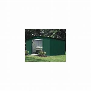 Abri De Jardin Acier : abri de jardin en acier galvanis vert 9 3 m plantes et ~ Dailycaller-alerts.com Idées de Décoration