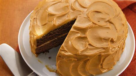mexican chocolate cake  caramel cream frosting recipe