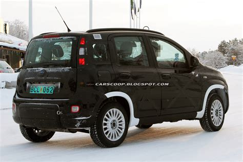 Fiat 4 Wheel Drive by Scoop Fiat Prepares 4x4 Edition Of Its New Panda City Car