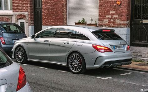 Unfortunately, the car isn't due in the united states as mercedes. Mercedes-Benz CLA 45 AMG Shooting Brake - 14 July 2016 - Autogespot