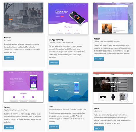 bootstrap  templates  colorlib