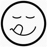 Taste Emoji Tongue Icon Emoticon Savouring Icons