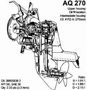 Volvo Penta Aquamatic 270 T Aq270 Outboard Workshop Manual
