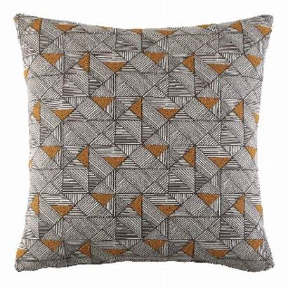 Cushion Geo Plan Copper Scatter Sofa Fifty