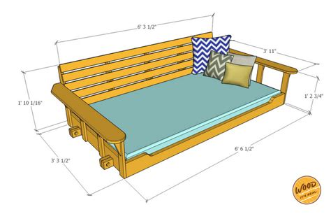table and 6 chairs build a porch bed swing plans and how to wood it