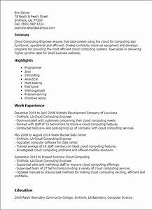 professional cloud computing engineer templates to With azure cloud resume