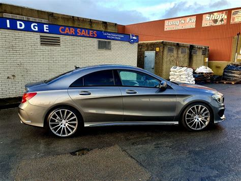 Optional panoramic glass sunroof, harman kardon. 2014 Mercedes-Benz CLA 2.1 220 CDI AMG SPORT 2.1 Diesel - £15995 - Three Bridge Car Sales - Cars NI