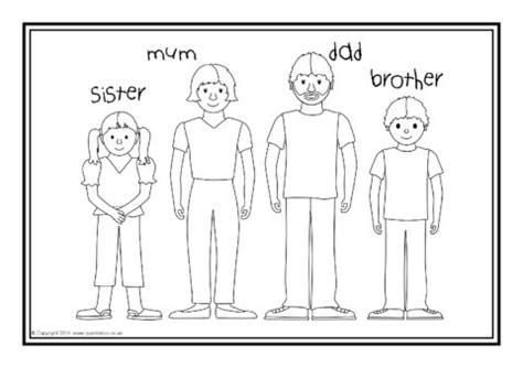 esl families colouring sheets sb sparklebox