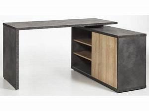 Bureau D Angle En Bois : bureau d 39 angle r versible core chene gris en 2019 minimalisme m minimalisme bureau angle et ~ Melissatoandfro.com Idées de Décoration