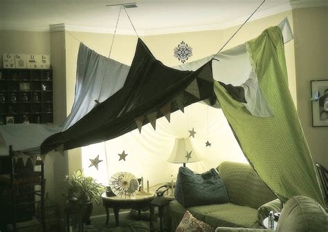 grown up blanket fort magic forest home decor
