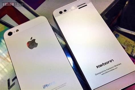 phone that looks like iphone the rs 1 699 karbonn k phone 1 looks like an iphone ibnlive