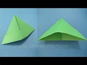 Hut Aus Papier : papierhut falten hut basteln mit papier origami basteln mit kindern youtube ~ Watch28wear.com Haus und Dekorationen
