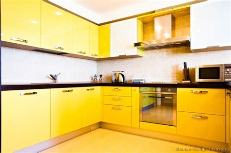 Yellow Kitchen Cupboards by Best Design Yellow Kitchen Cabinets Ideas Modern Kitchen